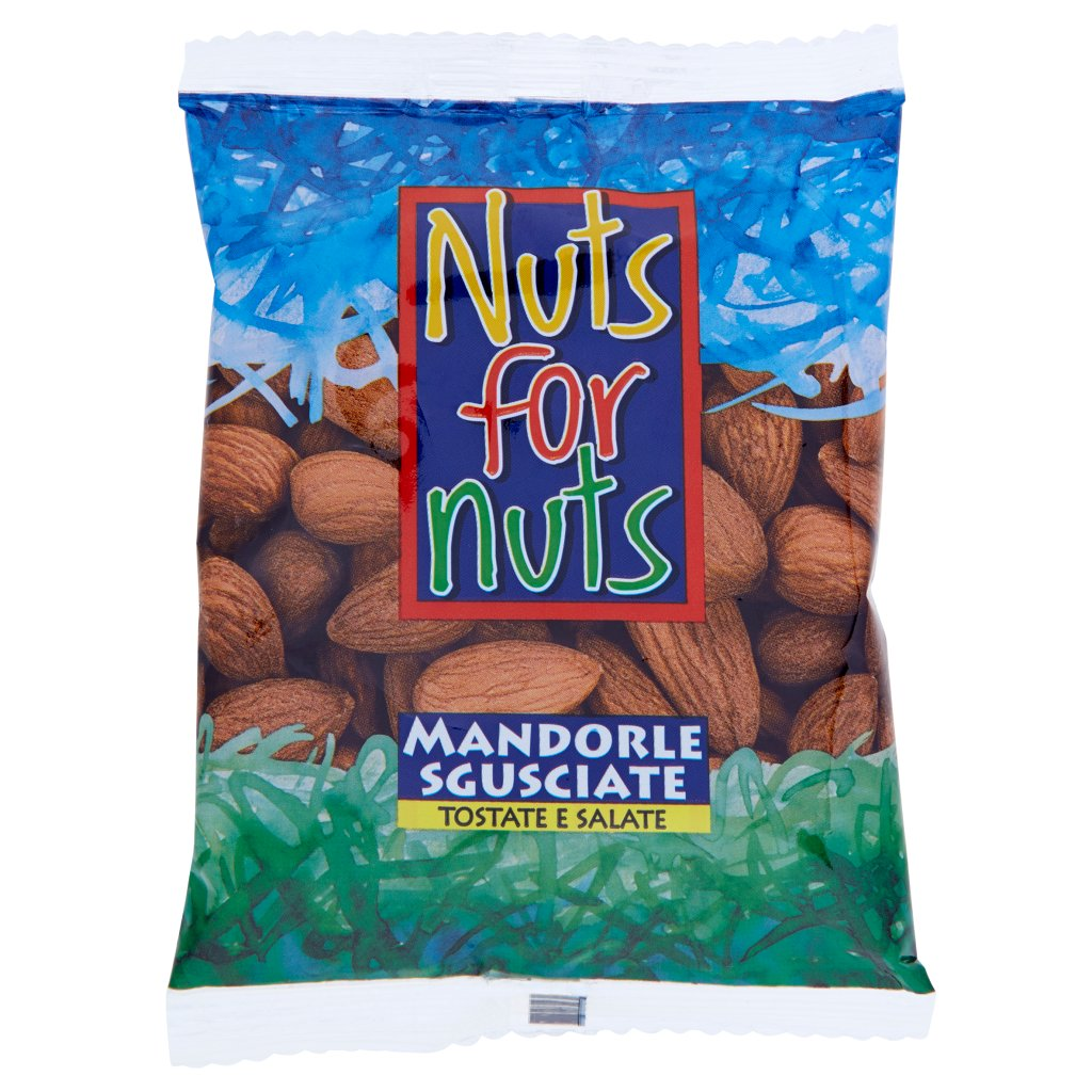 Nuts For Nuts Mandorle Sgusciate Tostate e Salate