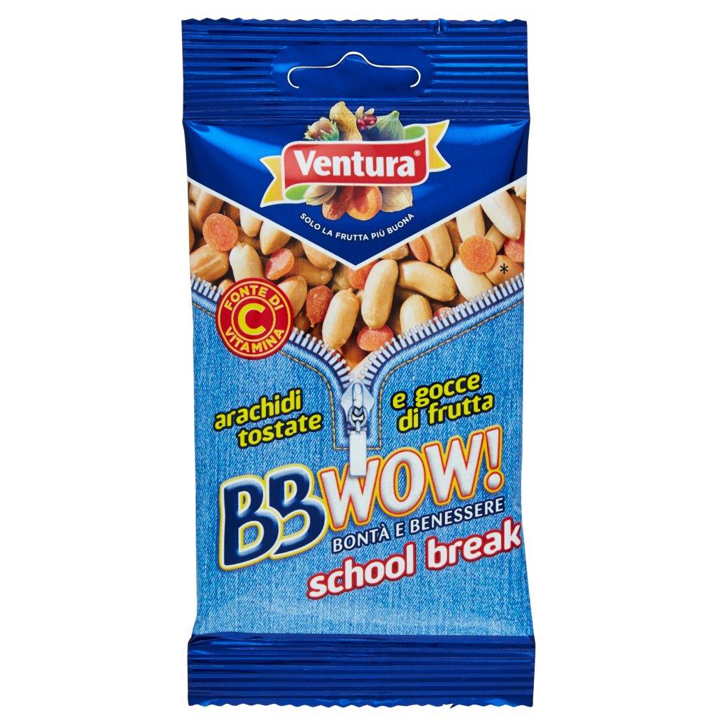 Ventura Bbwow! School Break Arachidi Tostate e Gocce di Frutta