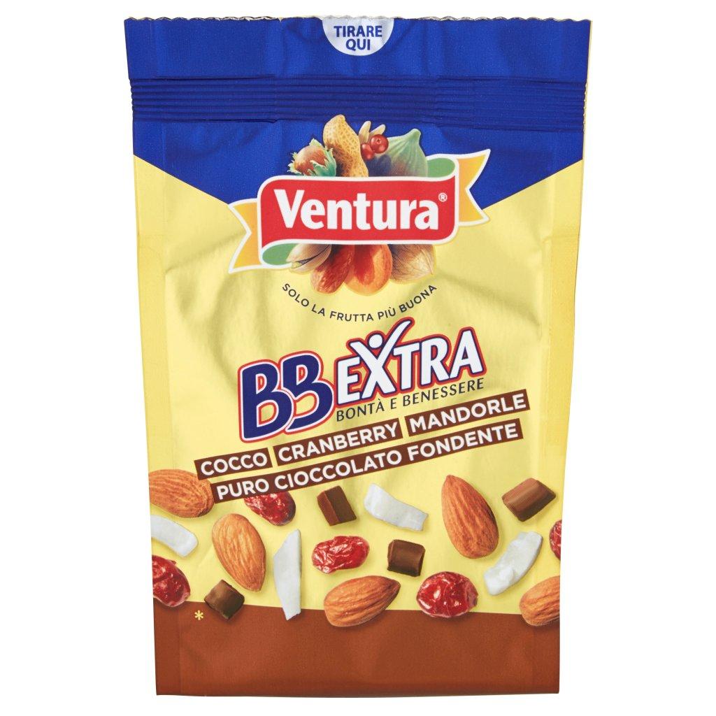 Ventura Bbextra Cocco/cranberry/mandorle/puro Cioccolato Fondente Confezione 150 G