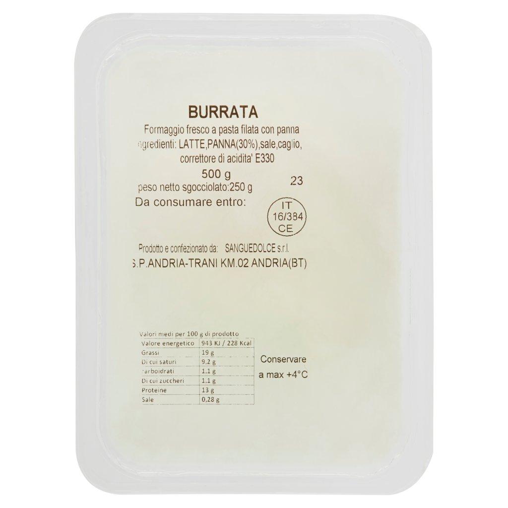 Sanguedolce Burrata 250 g