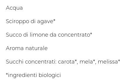 Il Melograno Bio Flavoured Water Melissa