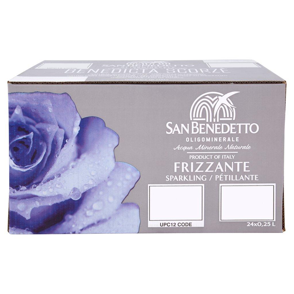 San Benedetto Acqua Minerale Benedicta Prestige Frizzante 24 x 0,25l Vap Confezione 24 Bottiglie Da 0,25 L