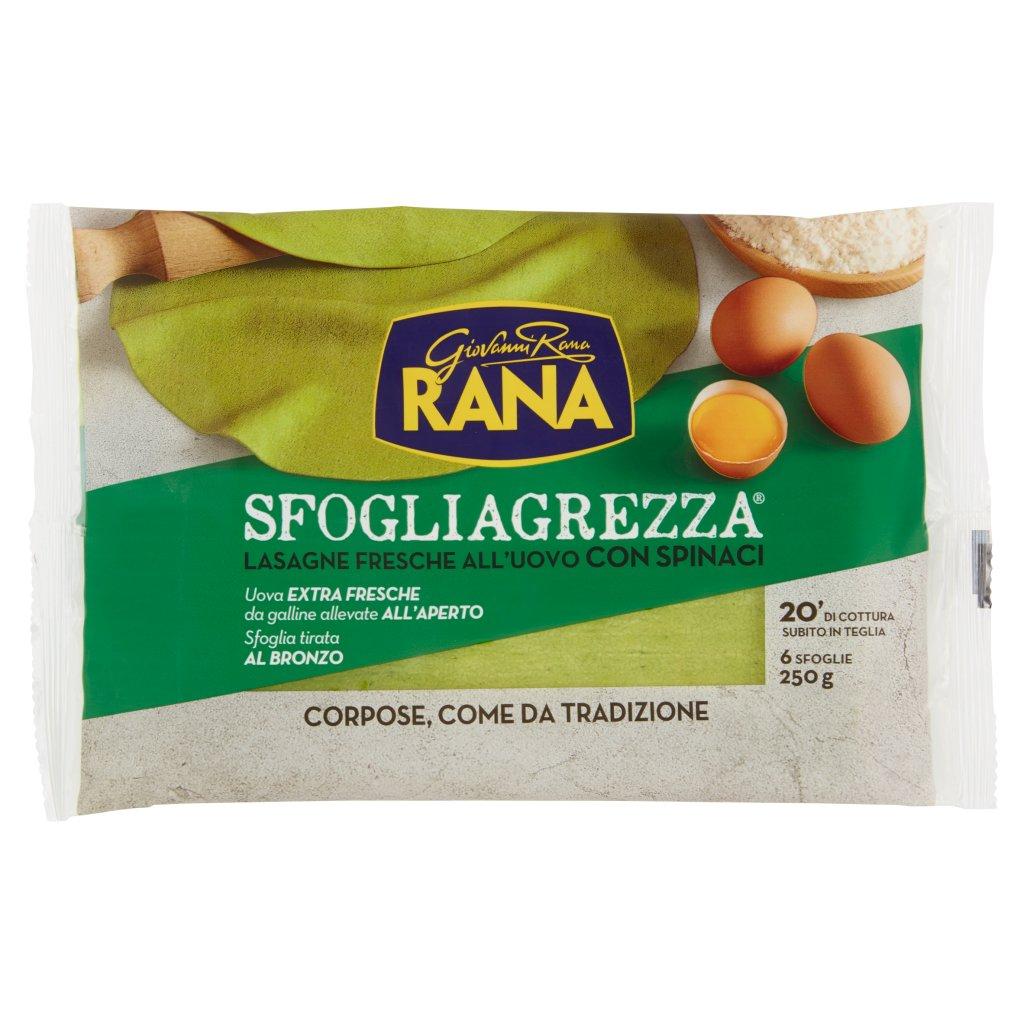Giovanni Rana Sfogliagrezza Lasagne Fresche all'Uovo con Spinaci