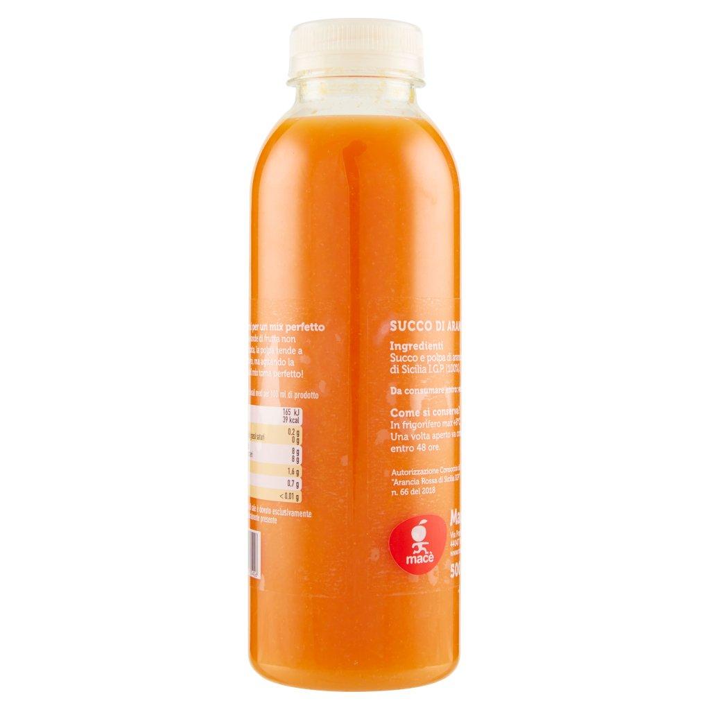 """Macè Spremuta di """"arancia Rossa di Sicilia I.G.P."""" 100% Frutta"""