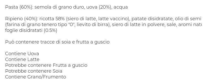 Maffei Ravioli Ricotta e Spinaci
