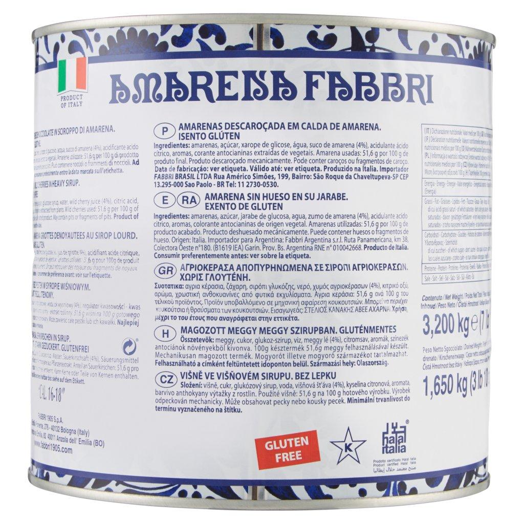 Amarena Fabbri 3,200 Kg