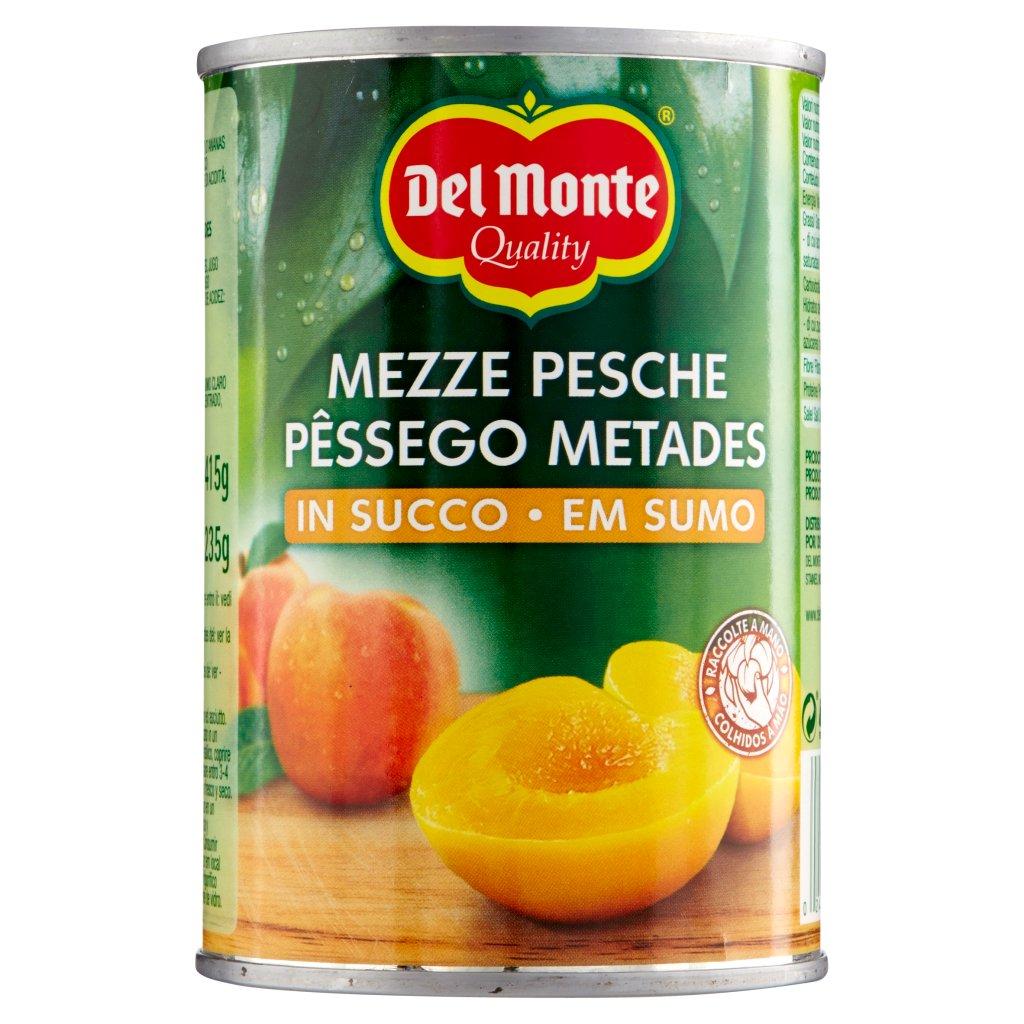 Del Monte Mezze Pesche in Succo