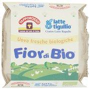Latte Tigullio Tapporosso Fior di Bio 4 Uova Fresche Biologiche