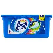 Dash Pods 3in1 Detersivo Lavatrice in Monodosi Salva Colore 30 Lavaggi