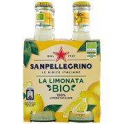 Sanpellegrino Bibite Gassare, la Limonata Bio 20 Cl x 4 (Vetro)