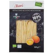I Tesori Fettuccine all'Uovo Biologiche Bio