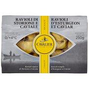 Cavalier Caviar Club 1ᵃ Qualità Ravioli di Storione e Caviale