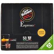 Caffè Vergnano 1882 Èspresso1882 Espresso Napoli Capsule Compatibili Nespresso 50 x 5 g
