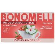 Bonomelli Infuso Erboristico 100% Karkadè e Goji 16 Filtri