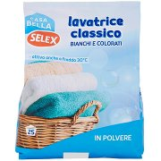 Selex Casa Bella Detersivo per Lavatrice in Polvere 25 Misurini 1,625 Kg