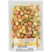 Pasta Piccinini Chicche Tricolore 0,400 Kg