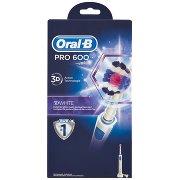 Oral-b Spazzolino Elettrico Ricaricabile Pro 600 3d White