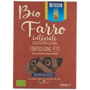 De Cecco Bio Farro Integrale Tortiglioni N°23
