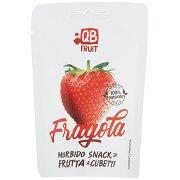 Qb Fruit Fragola Morbido Snack di Frutta a Cubetti