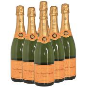 Veuve Cliquot Champagne 6 Pezzi