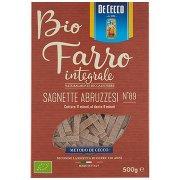 De Cecco Bio Farro Integrale Sagnette Abruzzesi N°89