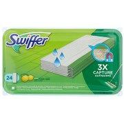 Swiffer Panni Umidi Lavapavimenti per Scopa - Ricarica  con Profumo di Limone