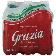 Grazia Acqua Minerale Naturale Acquasparta Effervescente Naturale 6 x 0,5 Litri