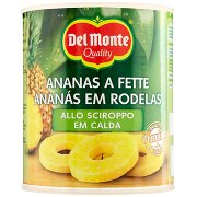 Del Monte Ananas a Fette allo Sciroppo