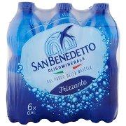 San Benedetto Acqua Minerale dal Parco della Majella Frizzante 6 x 0,5 l