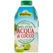 Pfanner Tropical 100% Pura Acqua di Cocco