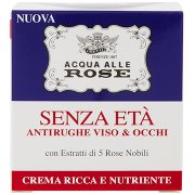 Acqua alle Rose Senza Età Antirughe Viso & Occhi Crema Ricca e Nutriente