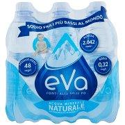 Eva Fonti Alta Valle Po Rocce Azzurre Acqua Minerale Naturale 6 x 0,5 l