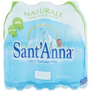 Sant'anna Naturale Sorgente Rebruant Vinadio 6 x 0,5 l