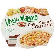 Viva la Mamma Beretta Viva la Mamma Zuppa Classica con Orzo e Farro