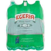 Egeria Effervescente Naturale 6 x 1,5 l