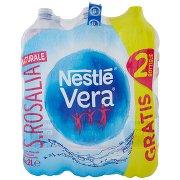 Nestlé Vera S. Rosalia, Acqua Minerale Naturale Oligominerale 2l x 4 + 2 Bottiglie Omaggio