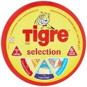 Tigre Selection 6 Spicchi Assortiti con Emmentaler, con Gruyère, Cremoso