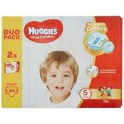 Huggies Ultra Comfort Pannolini Unisex 5 11-25 Kg Duo Pack 84 Pz