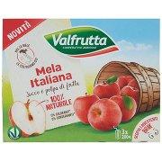 Valfrutta Mela Italiana Succo e Polpa di Frutta 3 x 200 Ml