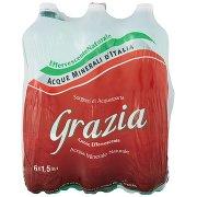 Grazia Acqua Minerale Naturale Acquasparta Effervescente Naturale 6 x 1,5 Litri