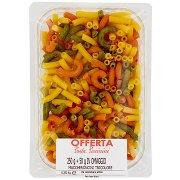 Pasta Piccinini Maccheroncini Tricolore 0,300 Kg