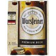 Warsteiner Premium Beer 3 x 0,33 l