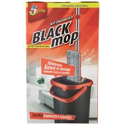 Super5 Black Mop Kit Pavimenti