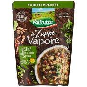 Valfrutta Le Zuppe a Vapore Rustica con Borlotti, Tondini e Cime di Rapa