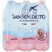 San Benedetto Acqua Minerale Benedicta Naturale 6 x 0,5 l