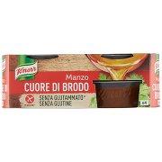 Knorr Cuore di Brodo Manzo 4 x 28 g