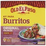 Old El Paso Kit Para Burritos Original Frijoles