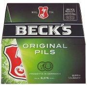 Beck's Beck's Birra Pilsner Tedesca Bottiglia 12x33cl