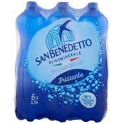 San Benedetto Acqua Minerale dalle Alpi Biellesi Frizzante 6 x 1,5 l