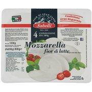 Sabelli Mozzarella Fior di Latte 4 x 200 g